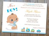Customized Baby Shower Invitations for A Boy Invitations for Baby Shower Boy