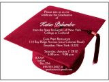 Customized Graduation Invitations for Free 25 Personalized Graduation Party Invitations Graduation