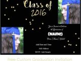 Customized Graduation Invitations for Free Graduation Invitations
