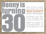 Cute 30th Birthday Invitation Wording 30th Birthday Party Invitation