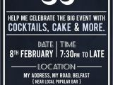 Cute 30th Birthday Invitation Wording 30th Birthday Party Invite by Akaihane