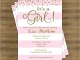 Cute Baby Girl Shower Invitations Sayings Colors Cute Baby Girl Shower Invitation Wording Plus with