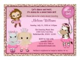 Cute Baby Girl Shower Invitations Sayings Cute Baby Girl Shower Invitations