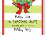 Cute Holiday Party Invites Sayings Christmas Open House Invitations Christmas Open House
