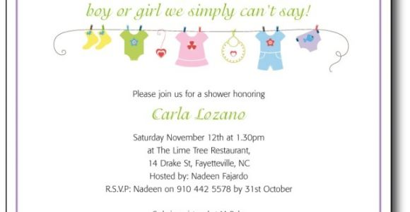 Cute Sayings for Baby Shower Invites Cute Baby Shower Invitation Wording Template