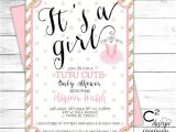 Cutest Baby Shower Invitations Tutu Cute Baby Shower Invitation