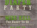 Daddy Baby Shower Invitations Daddy Baby Shower Printable Invitation by Elliotgracedesigns
