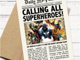 Daily Planet Birthday Invitation Template Daily Planet Superhero Newspaper Birthday Invitation Captain