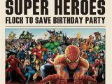 Daily Planet Birthday Invitation Template Superhero Newspaper Birthday Invitations Best Party Ideas