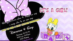 Daisy Duck Baby Shower Invitations Daisy Duck Baby Shower Invitation In Lavender and by