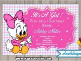 Daisy Duck Baby Shower Invitations Disney Baby Daisy Baby Shower Invitations