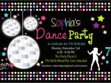 Dance Party Invitations Free Dance Party Invitations Printable Free Www Imgkid Com