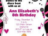 Dance Party Invitations Free Kids Dance Party Invitations Cloudinvitation Com
