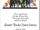 Dance Party Invitations Templates Silhouette Dance Party Invitations