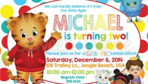 Daniel Tiger Birthday Invitation Template Daniel Tiger Birthday Invitation Daniel Tiger 39 S