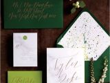 Dark Green Wedding Invitations the 25 Best Green Wedding Invitations Ideas On Pinterest