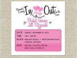 Date Night themed Bridal Shower Invitations Bridal Shower Invitation Date Night theme by Merrilydesigns