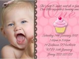 Daughter 2nd Birthday Invitation Wording Baby Girl 1st Birthday Invitations