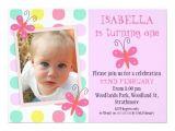Daughter 2nd Birthday Invitation Wording butterflies 1st 2nd Birthday Party Invitation