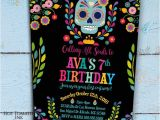 Day Of the Dead Party Invitation Template Day Of the Dead Invitation Dia De Los Muertos Invitation