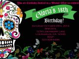Day Of the Dead Party Invitation Template Day Of the Dead Party Invitations Invitation Librarry
