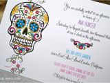Day Of the Dead Party Invitation Template Diy Printable Day Of the Dead Invitation Digital File