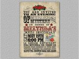 Day Of the Dead Party Invitation Template Items Similar to Western Birthday Invitation Day Of the