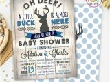 Deer Hunting Baby Shower Invitations Deer Baby Showers Baby Boy Shower Invitations and Boy