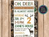 Deer Hunting Birthday Party Invitations Deer Hunting Birthday Invitation Hunting by Msthirdgrade