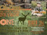 Deer Hunting Birthday Party Invitations Deer Hunting theme Birthday Invitation Camo Digital Printable