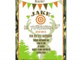 Deer Hunting Party Invitations Hunting Party Invitation Hunting Birthday by Peachymommy