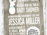 Deer themed Baby Shower Invitations Hunting theme Sweet Lil Deer Baby Shower Invitation by