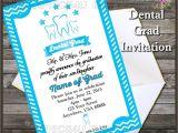 Dental Graduation Invitations Dental Graduation Party Invitation Printable Digital File