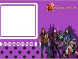 Descendants Party Invitations Printable Free Descendants Free Printable Mini Kit Oh My Fiesta In