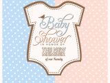 Design A Baby Shower Invitation for Free Online Baby Shower Invitation Design Vector Free Download
