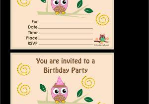 Design Birthday Invitations Free Printable top 8 Birthday Party Invitations Printable theruntime Com