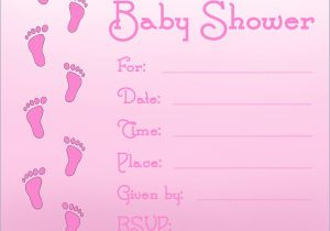 Design Your Own Baby Shower Invitations for Free Free Printable Baby Shower Invitations for Girls