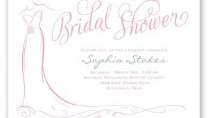 Designer Bridal Shower Invitations Elegant Bride Bridal Shower Invitation Invitations by Dawn