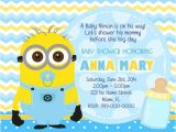 Despicable Me Baby Shower Invitations Baby Minion Despicable Me Quotes Quotesgram