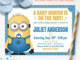 Despicable Me Baby Shower Invitations Despicable Me Minions Baby Shower Invitation by Redheadinvites