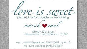 Dessert themed Bridal Shower Invitations Couples Wedding Shower Invitation Dessert themed Wedding