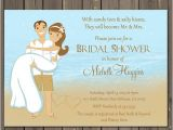 Destination Wedding Bridal Shower Invitations Beach Bridal Shower Invitation Ocean Bridal Shower