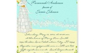 "Destination Wedding Bridal Shower Invitations Destination Wedding Bridal Shower Invitations 5"" X 7"