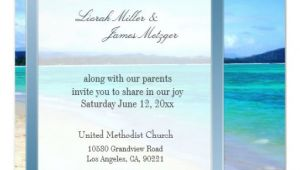 Destination Wedding Invitation Template Diy Destination Beach Wedding Invitation Template Zazzle