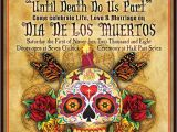 Dia De Los Muertos Wedding Invitations 20 Unique Wedding Invitations for Inspiration 4over4 Com