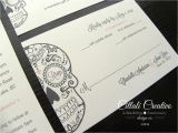 Dia De Los Muertos Wedding Invitations Day Of the Dead Wedding Invitation Dia De Los Muertos by