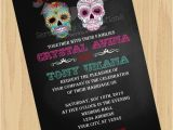 Dia De Los Muertos Wedding Invitations Diy Digital Sugar Skull Invitation Dia De Los Muertos