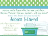 Diaper and Wipes Baby Shower Invitation Wording Diapers and Wipes Shower Invitation $15 00 Via Etsy