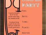 Diaper Party Invitation Insanely Cute and Amazing Diaper Party Ideas