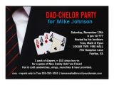 Diaper Poker Party Invitations Dadchelor sophisticated Poker Party Invitations Zazzle
